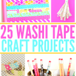 25 Washi Tape Projects