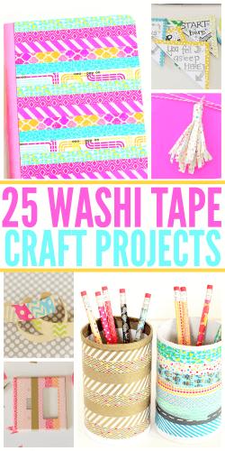 25 Washi Tape Craft Projects | Atlanta Blogger