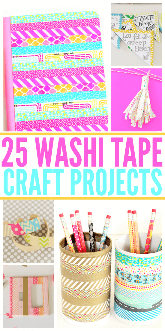 25 Washi Tape Craft Projects | Atlanta Blogger