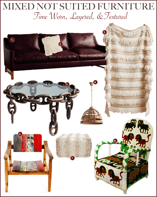 Mixed Furniture Graphic | Atlanta Blogger