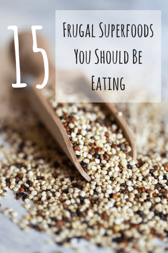 15 Frugal Superfoods You Should Be Eating | Atlanta Blogger