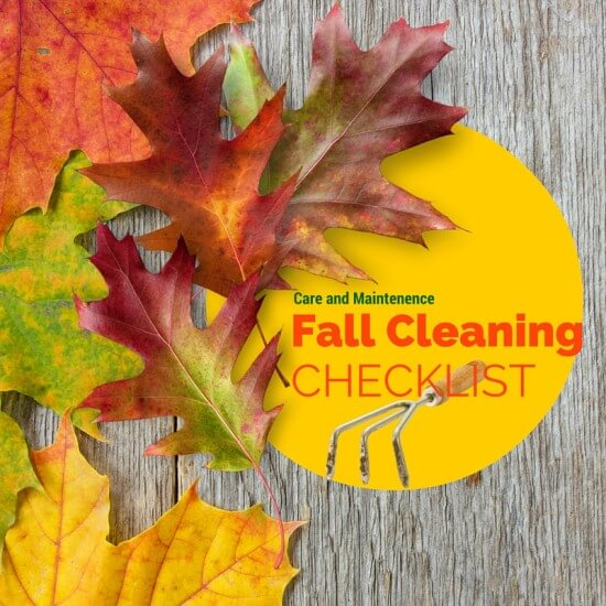 Fall Cleaning Checklist | Atlanta Blogger