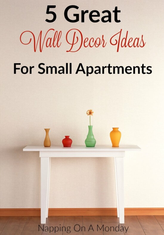 5 Great Wall Decor Ideas For Small Apartments
