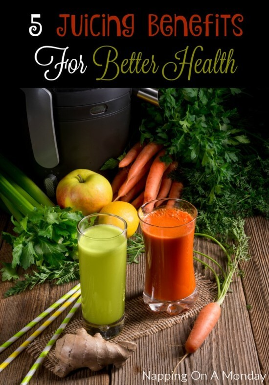 5 Juicing Benefits For Better Health