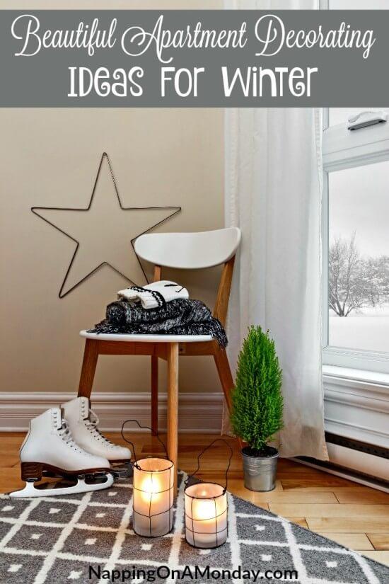 Beautiful Apartment Decorating Ideas For Winter | Atlanta Blogger