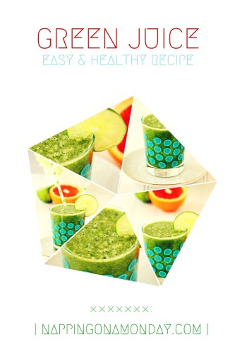 easy green juice recipe | Atlanta Blogger