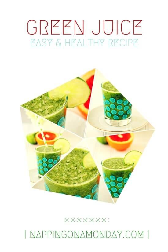 easy green juice recipe | Atlanta Blogger