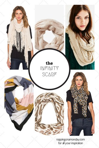Easy Infinity Scarf Tutorial | Atlanta Blogger