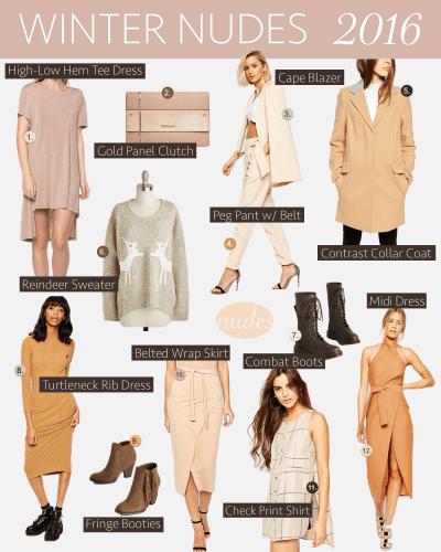 Style Listicle: Neutral Winter Colors | Atlanta Blogger