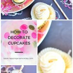 Easy Valentine's Cupcake Decorations