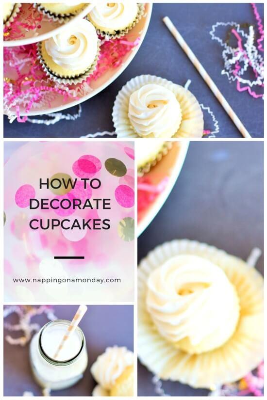 Easy Valentine's Cupcake Decorations | Atlanta Blogger