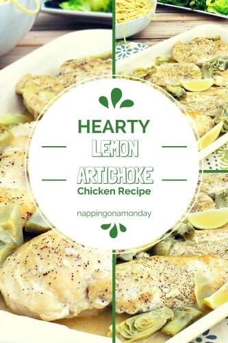 Artichokes and Lemon Chicken Recipe | Atlanta Blogger