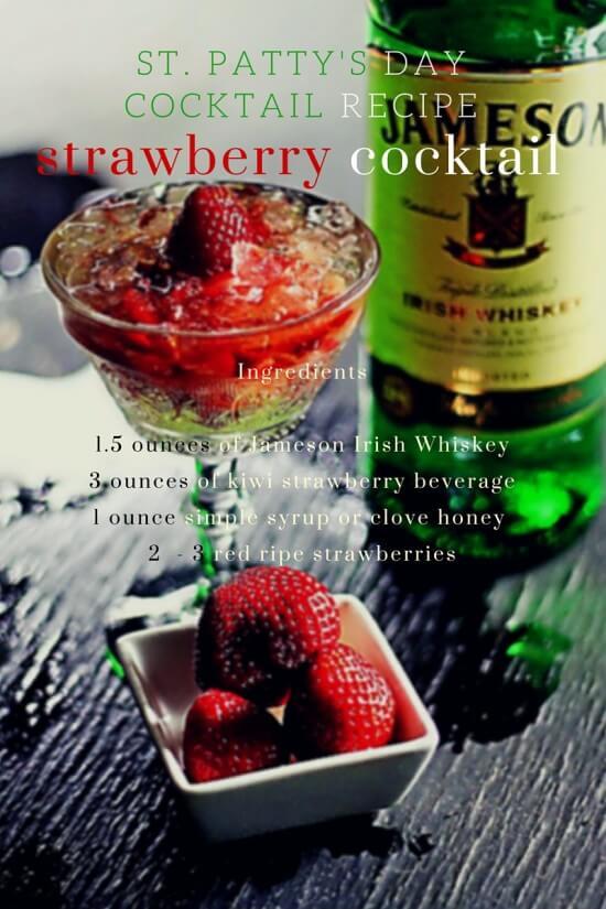 St. Patrick's Day Cocktail Recipe | Atlanta Blogger