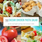 Caesar Chicken Pasta Salad