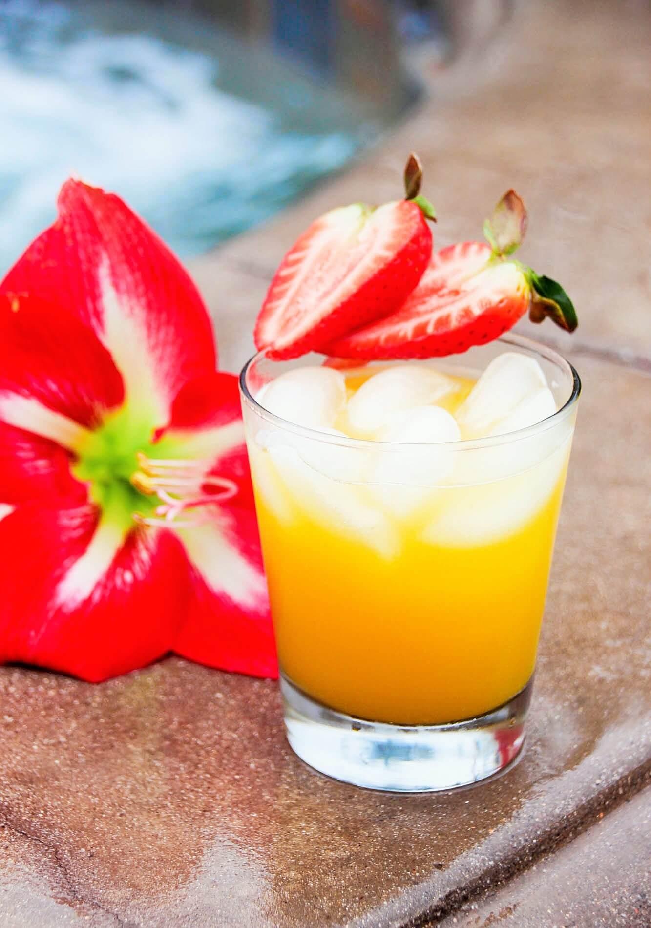 Strawberry & Mango Tequila Punch Recipe