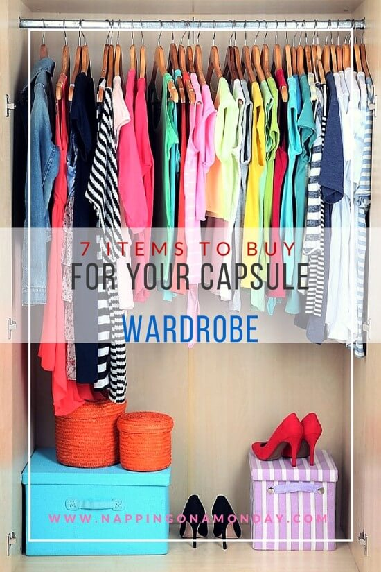 7 Items To Buy For Your Capsule Wardrobe