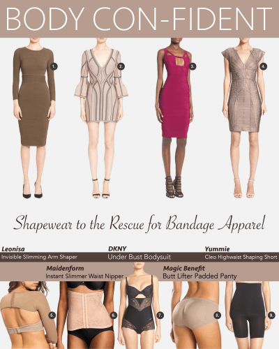 Bodycon Dresses? Shapewear to the Rescue!