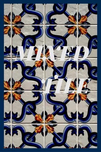 mixed tile pattern