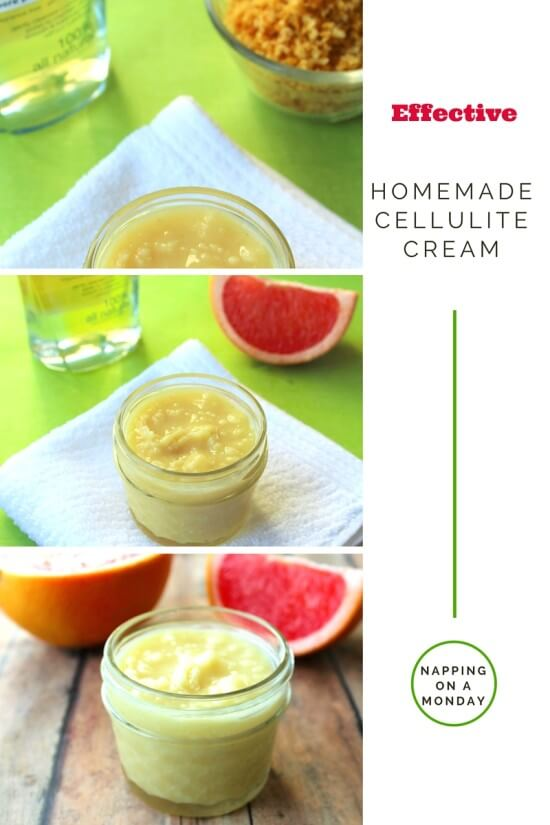 DIY Cellulite Cream