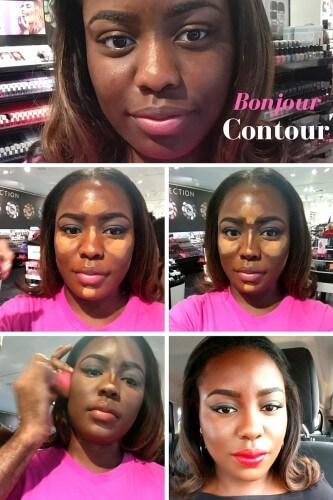 Contour Makeup for Dark Skin Women