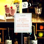 Refreshing Raspberry Wine Milkshake Recipe