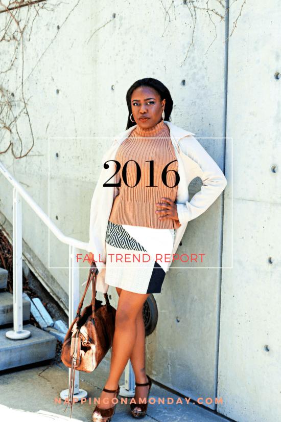 2016 Fall Fashion Trends | Atlanta Blogger