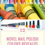Crayola and Sally Hansen Nail Polish