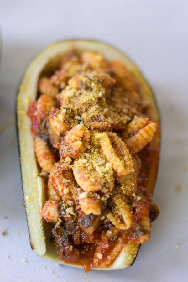 VEGAN-pasta-PARMESAN-STUFFED-EGGPLANT-atlanta-blogger-26